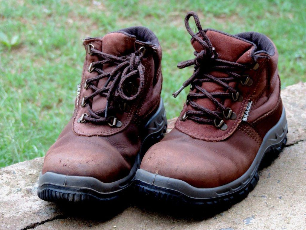shoe, rustic, boot